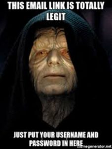 Emperor Palpatine email link